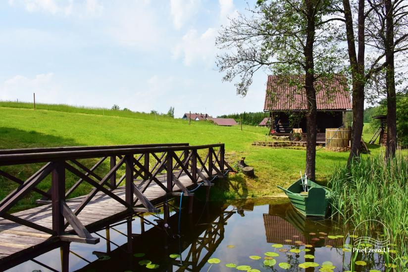 Lauku sēta pie Ilmedas ezera, Lietuvā, Molētu reģionā - 20