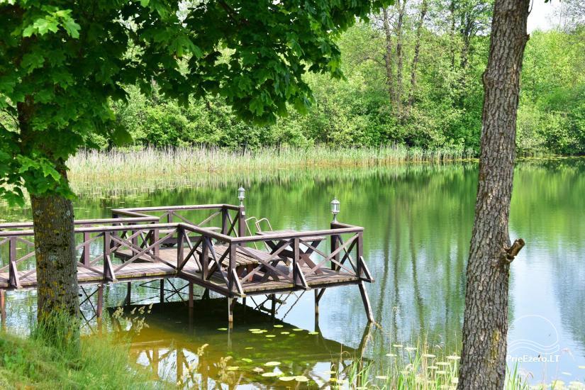 Lauku sēta pie Ilmedas ezera, Lietuvā, Molētu reģionā - 28