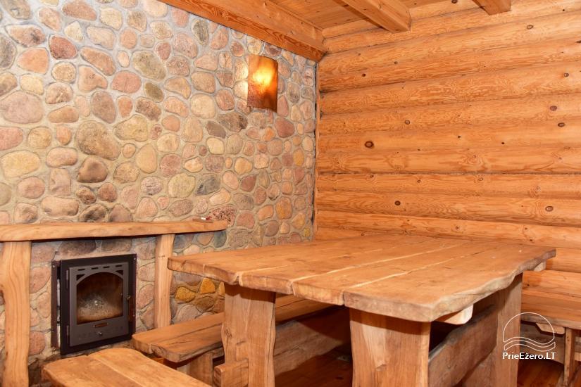 Lauku sēta pie Ilmedas ezera, Lietuvā, Molētu reģionā - 21