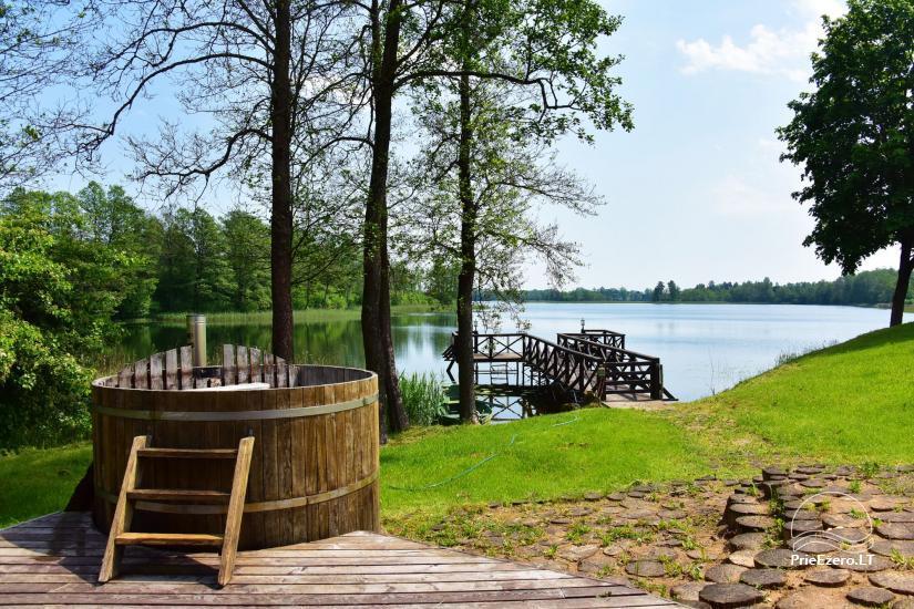 Lauku sēta pie Ilmedas ezera, Lietuvā, Molētu reģionā - 24