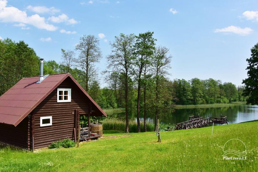 Lauku sēta pie Ilmedas ezera, Lietuvā, Molētu reģionā - 19