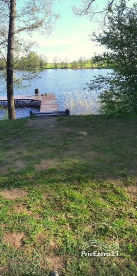 Lauku sēta ezera krastā mierīgai atpūtai Lietuvā - 3