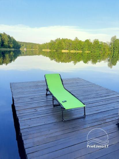 Lauku sēta ezera krastā mierīgai atpūtai Lietuvā - 2