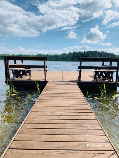 Lauku sēta Lietuvas Aisetu ezera krastā - 2