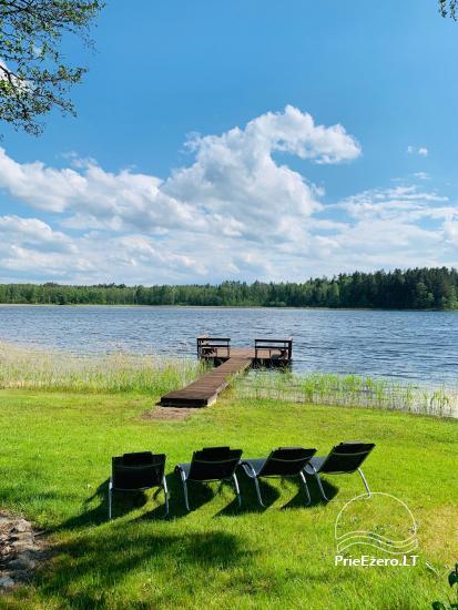 Lauku sēta Lietuvas Aisetu ezera krastā - 11