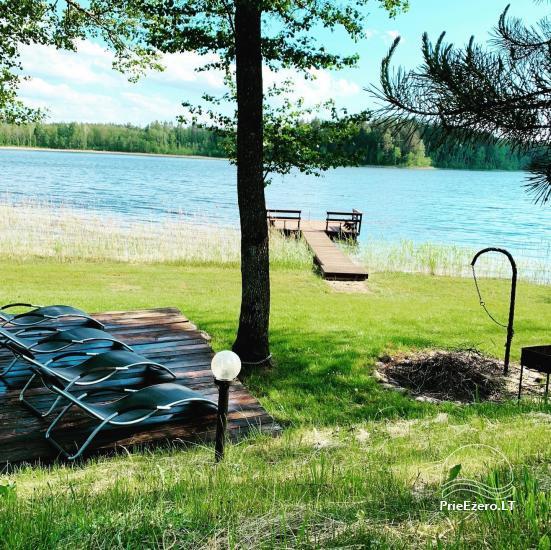 Lauku sēta Lietuvas Aisetu ezera krastā - 1