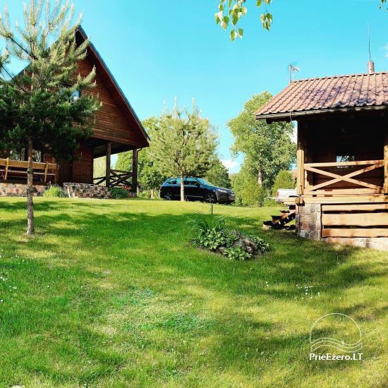 Lauku sēta Lietuvas Aisetu ezera krastā - 14