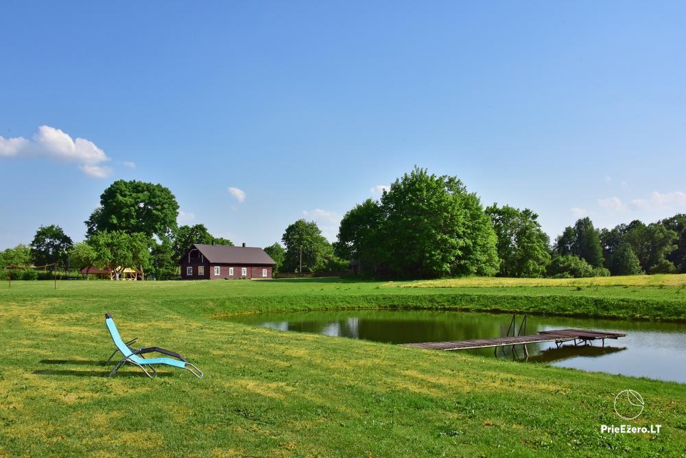 Lauku sēta pie ezera Lietuvā Prie koptos - 20