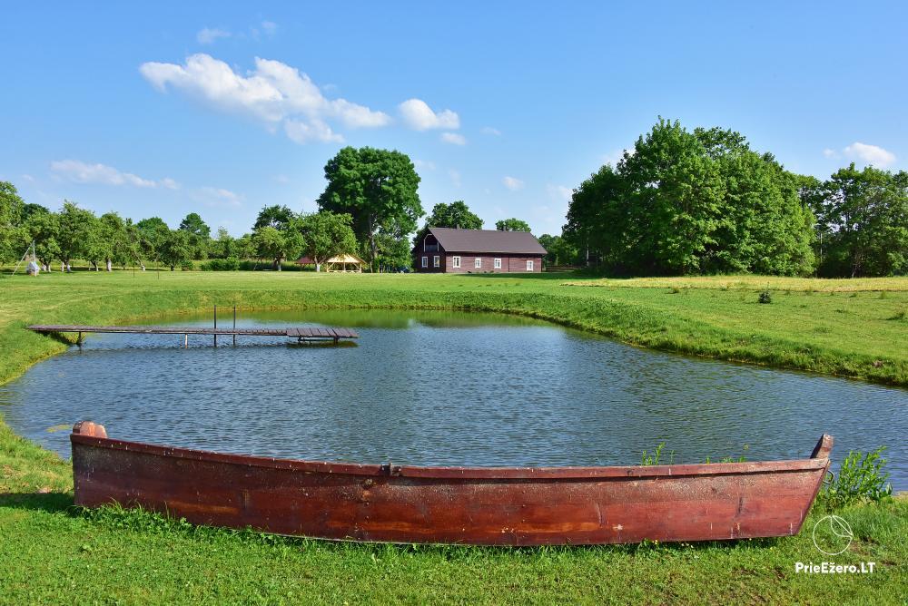 Lauku sēta pie ezera Lietuvā Prie koptos - 19