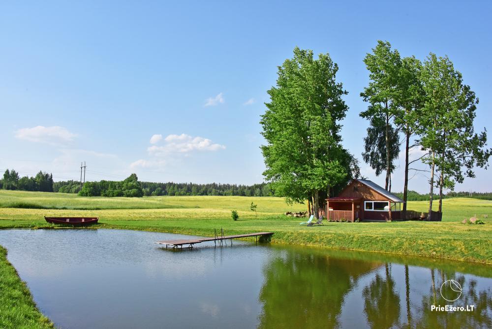 Lauku sēta pie ezera Lietuvā Prie koptos - 15
