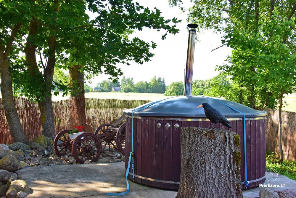 Lauku sēta pie ezera Lietuvā Prie koptos - 18