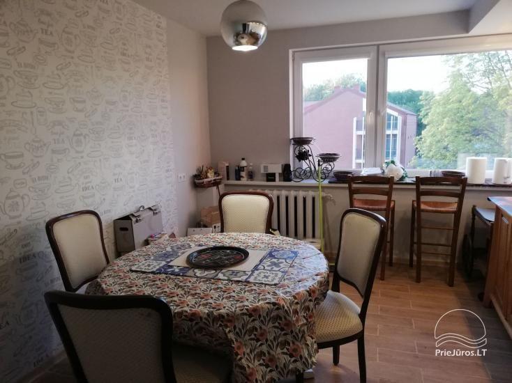 Tiek izīrēts mūsdienīgs dzīvoklis Rusnē, līdz 6 viesiem, ļoti laba vieta zvejniekiem - 7