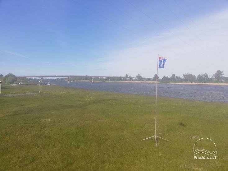 Tiek izīrēts mūsdienīgs dzīvoklis Rusnē, līdz 6 viesiem, ļoti laba vieta zvejniekiem - 14