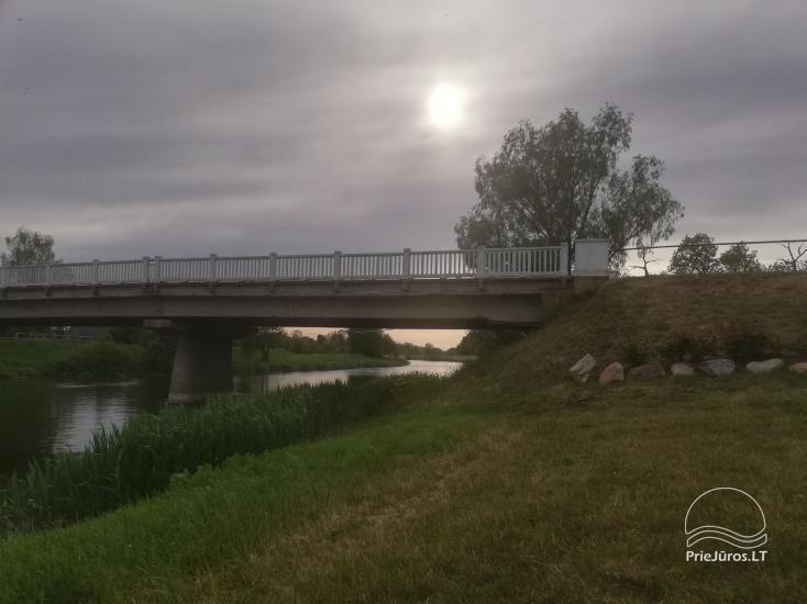 Tiek izīrēts mūsdienīgs dzīvoklis Rusnē, līdz 6 viesiem, ļoti laba vieta zvejniekiem - 13