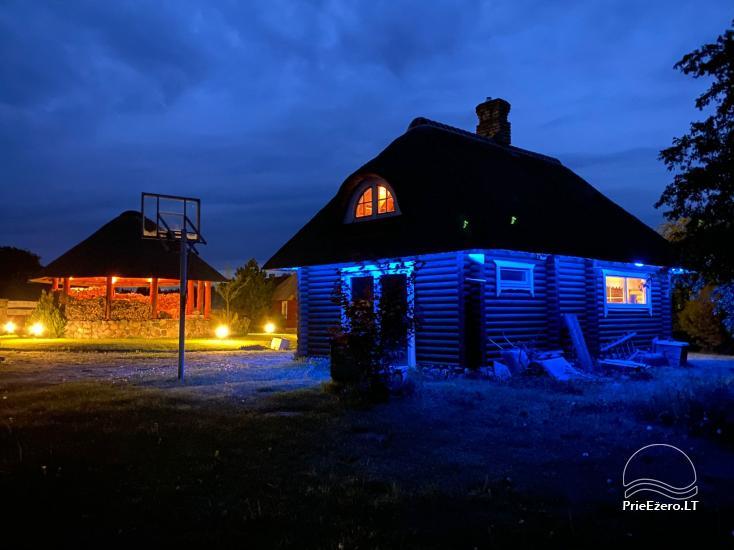 Lauku sētas īre Paezeriai, Lietuvā - 15