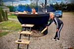 Kempinga vieta Vilkyciai - mums ir dīķis, japāņu āra vanna, motorolleri - 9