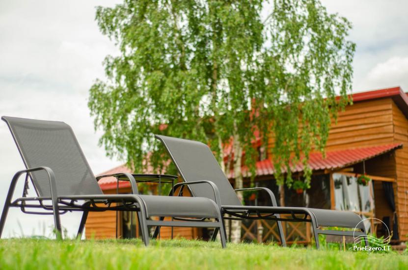Lauku sēta Didvejo ar dīķi pagalmā - 13