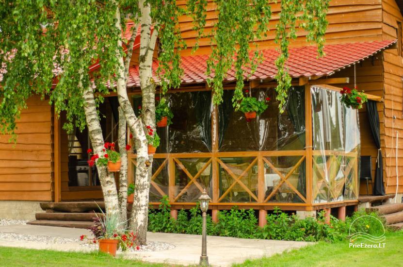 Lauku sēta Didvejo ar dīķi pagalmā - 14