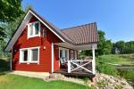 Lauku māja rajona Zarasai pie ezera Neceskas