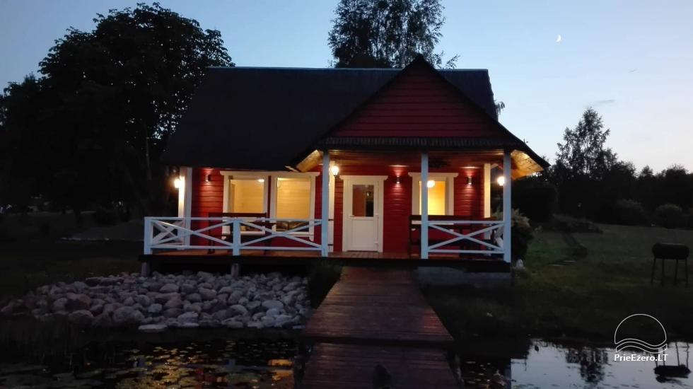 Lauku māja rajona Zarasai pie ezera Neceskas - 10