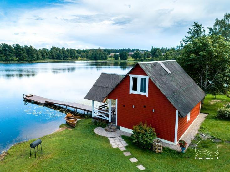 Lauku māja rajona Zarasai pie ezera Neceskas - 3