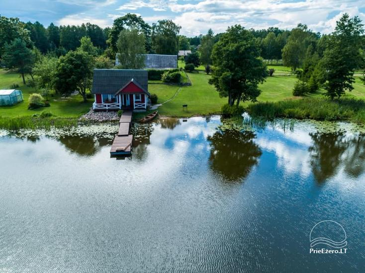 Lauku māja rajona Zarasai pie ezera Neceskas - 2