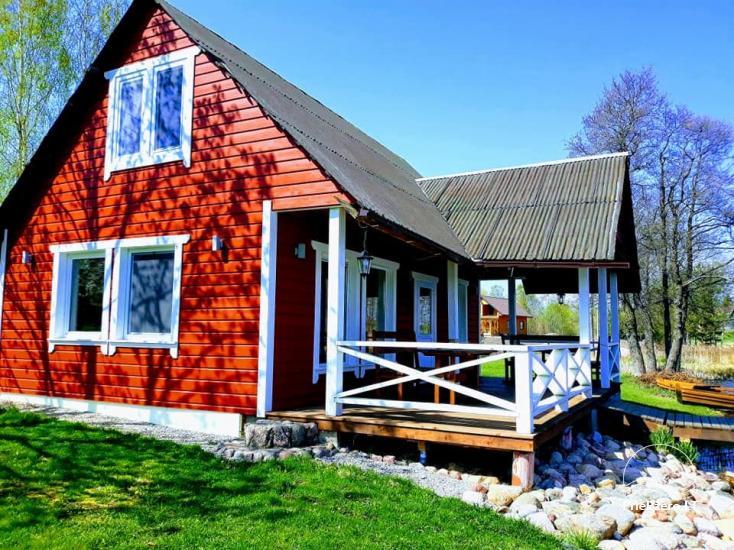Lauku māja rajona Zarasai pie ezera Neceskas - 4