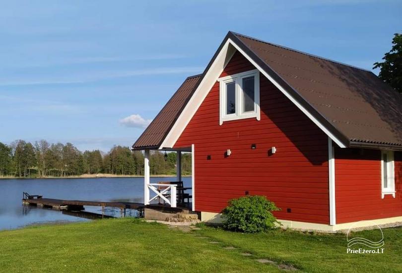 Lauku māja rajona Zarasai pie ezera Neceskas - 11