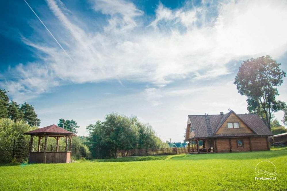 Lauku sēta Sumsko Viļņas reģionā, Lietuvā - 5