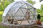 Izīrē kupolu vasarnīcu ezera krastā - 6