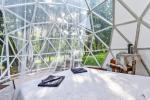 Izīrē kupolu vasarnīcu ezera krastā - 3