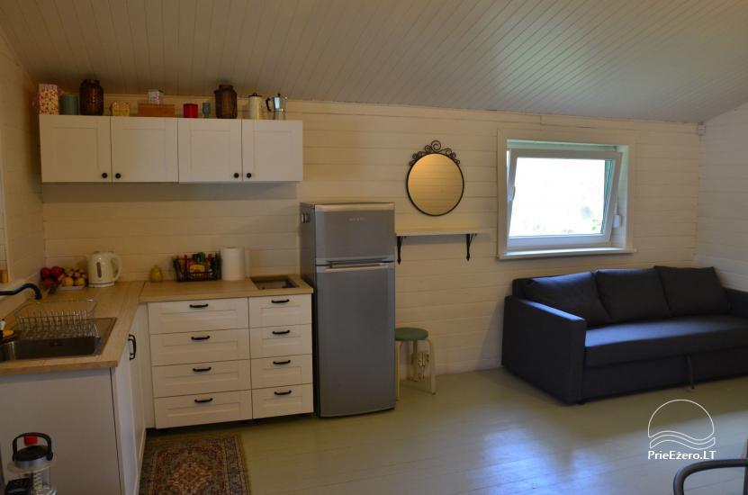 Mājīga neliela vasaras māja ezera krastā mierīgai atpūtai - 4