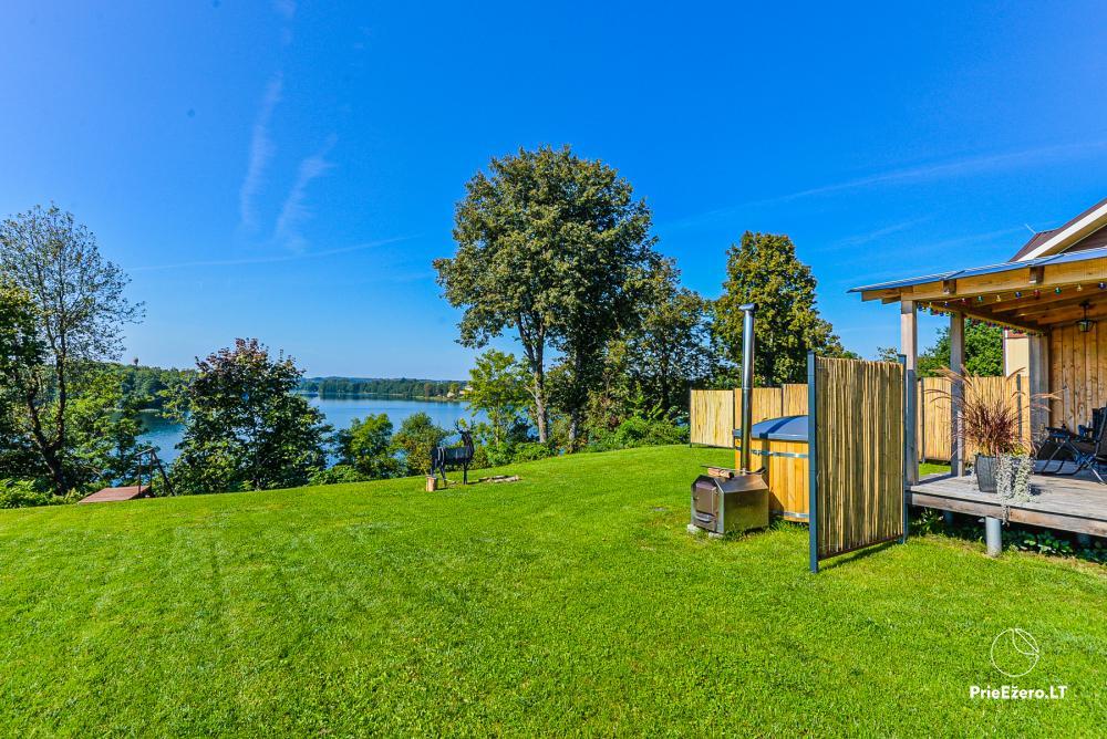 Brīvdienu māja ezera krastā Volungė - 17