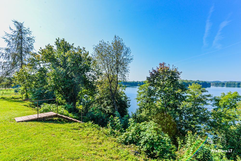 Brīvdienu māja ezera krastā Volungė - 16