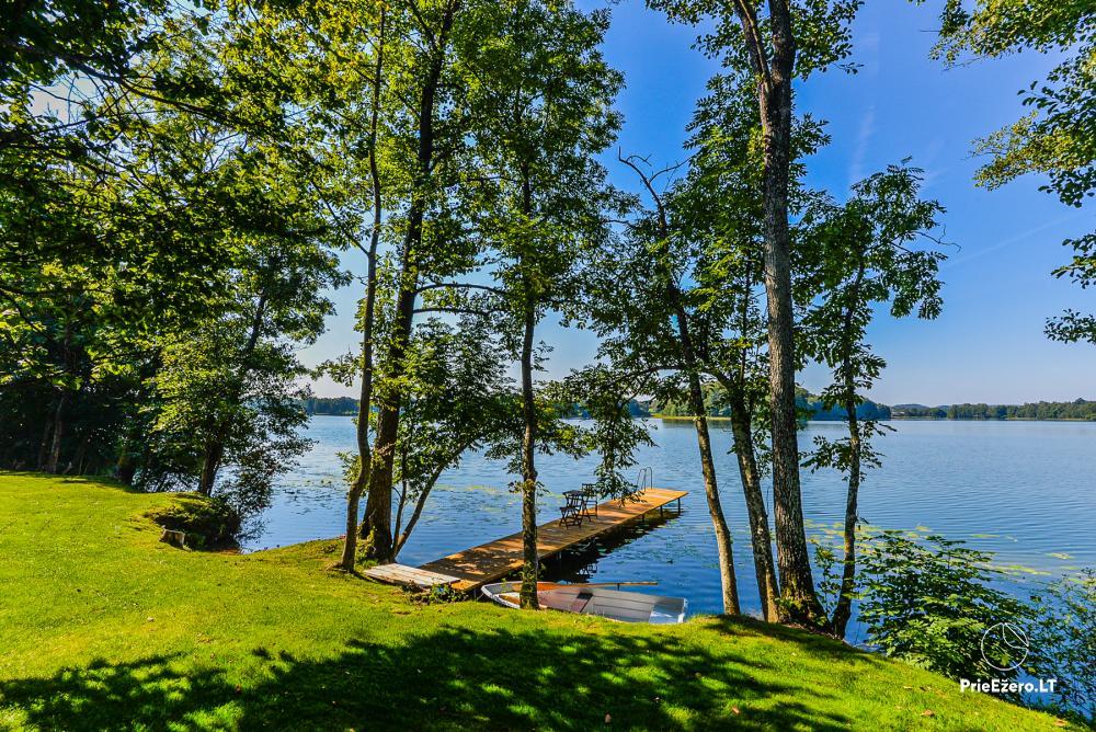 Brīvdienu māja ezera krastā Volungė - 15
