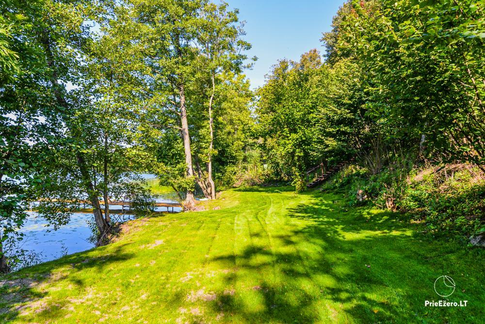 Brīvdienu māja ezera krastā Volungė - 13