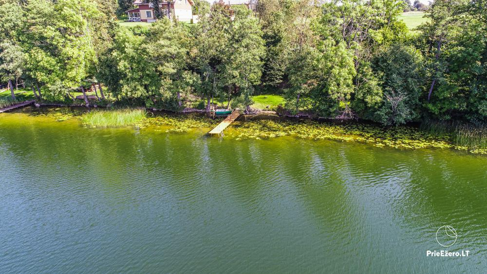 Brīvdienu māja ezera krastā Volungė - 11