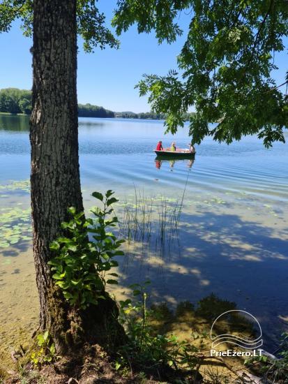 Brīvdienu māja ezera krastā Volungė - 19