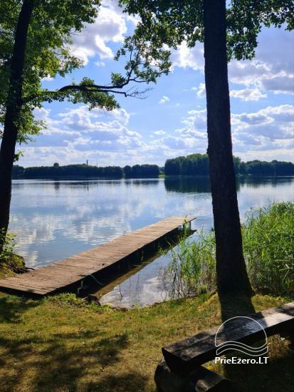Brīvdienu māja ezera krastā Volungė - 2