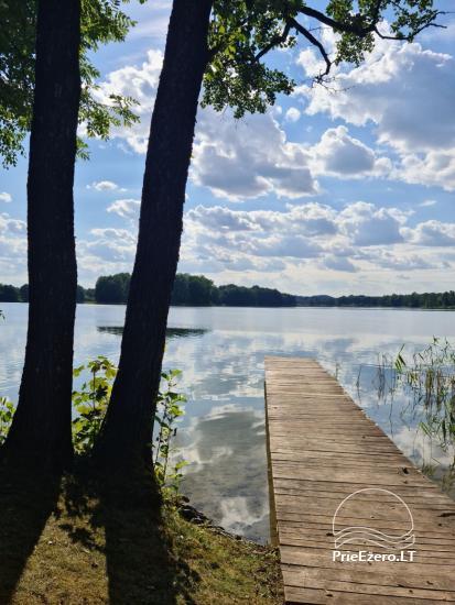 Brīvdienu māja ezera krastā Volungė - 30