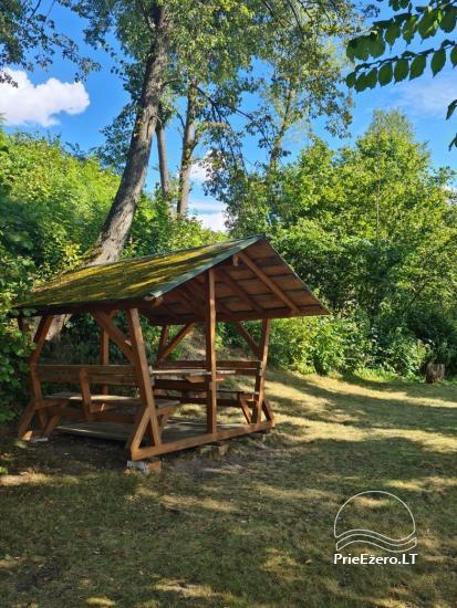 Brīvdienu māja ezera krastā Volungė - 18