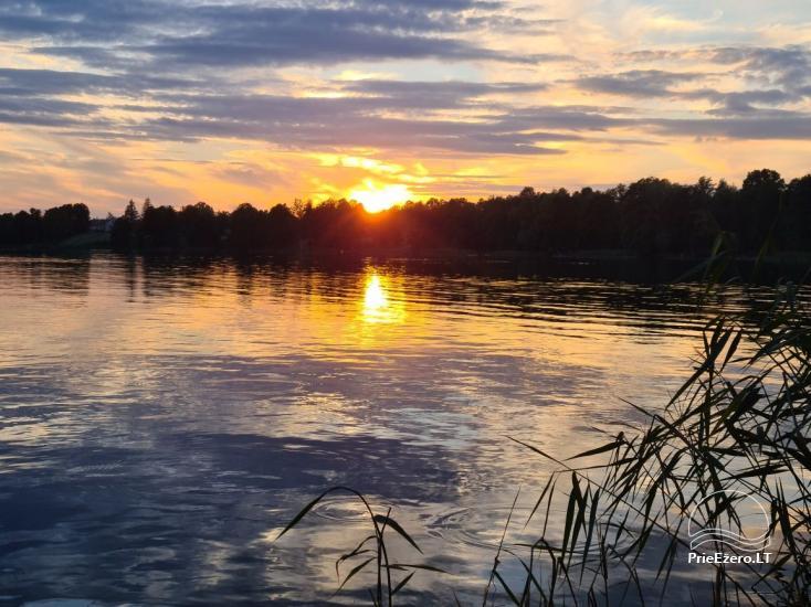 Brīvdienu māja ezera krastā Volungė - 32