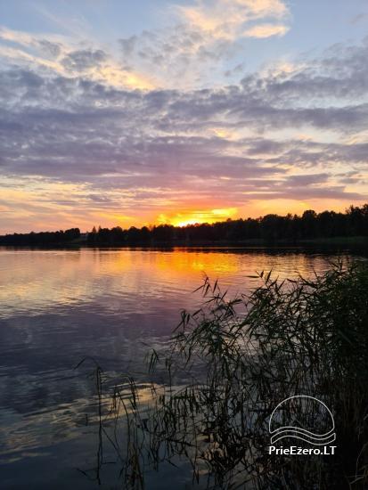 Brīvdienu māja ezera krastā Volungė - 34