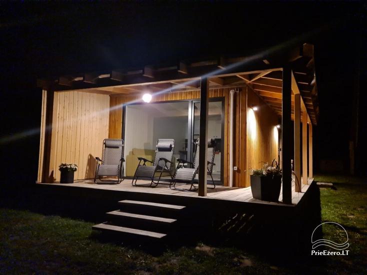 Brīvdienu māja ezera krastā Volungė - 36