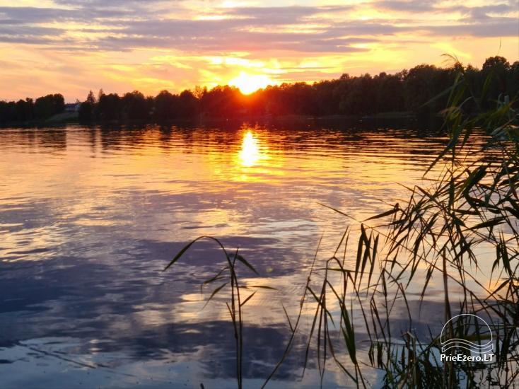 Brīvdienu māja ezera krastā Volungė - 38