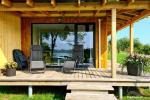 Brīvdienu māja ezera krastā Volungė