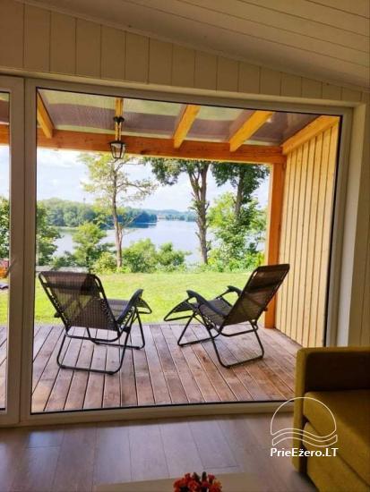 Brīvdienu māja ezera krastā Volungė - 21