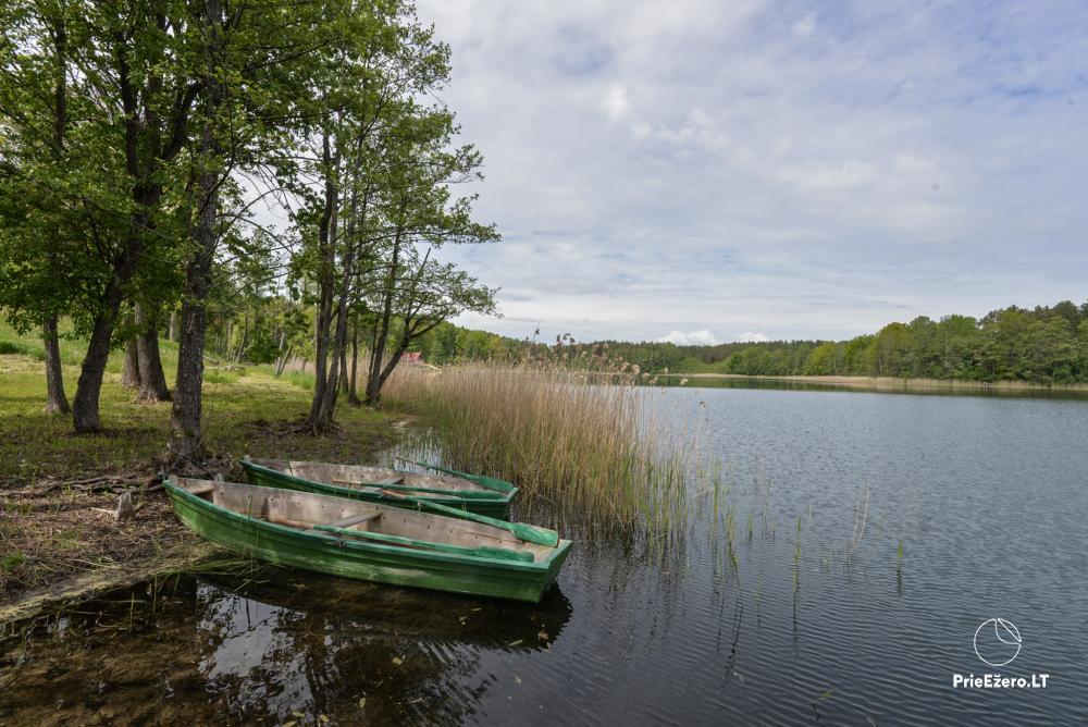 Privāts īpašums Lazdijai. pie Gailiekas ezera Sandų sodyba - 33