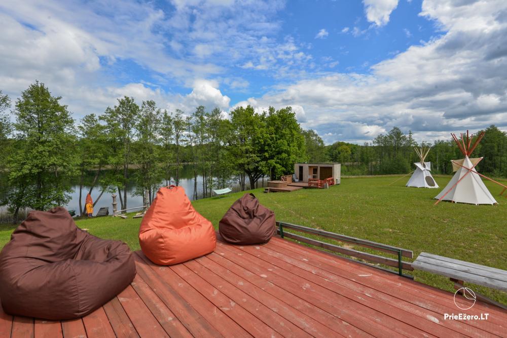 Privāts īpašums Lazdijai. pie Gailiekas ezera Sandų sodyba - 20