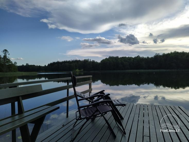 """Vilko namai"" Zarasai rajonā pie Uolis ezera - 2"